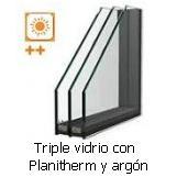 Triple vidrio