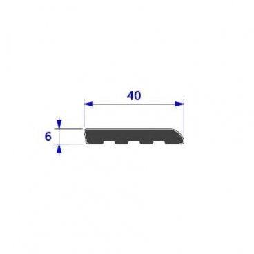 Pletina 40mm. en PVC