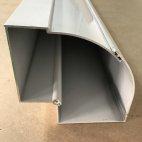 Esquinero aluminio para ventanas con persiana