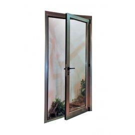 Puertas de aluminio alubama for Puerta oscilobatiente