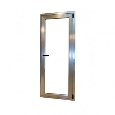 Puerta aluminio 1 hoja oscilobatiente