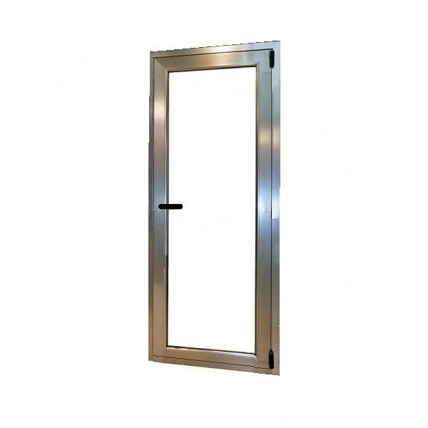 Puerta aluminio 1 hoja oscilobatiente for Puerta oscilobatiente
