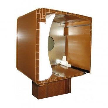 Cajón PVC 185mm. Decorbox