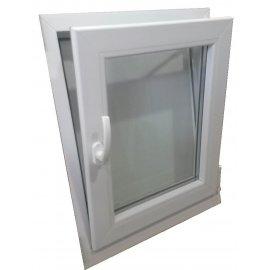 Ventana PVC 1 hoja 600x1000 oscilobatiente