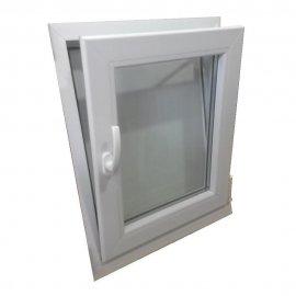 Ventana PVC 1 hoja 600x700 oscilobatiente