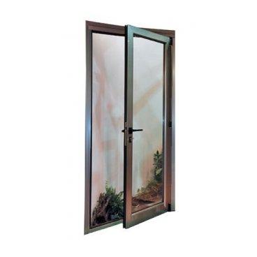 Puerta aluminio RPT 1 hoja abatible