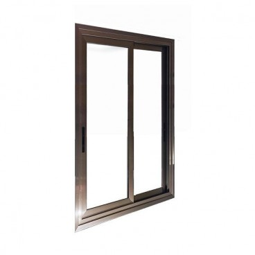 Puerta aluminio 2 hojas corredera