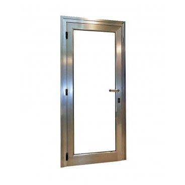 Puerta aluminio 1 hoja abatible