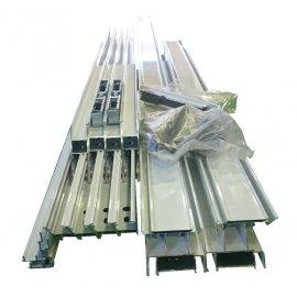 Ventana aluminio 1 hoja abatible en kit sin ensamblar