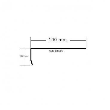 Vierteaguas 100mm. Mod.3
